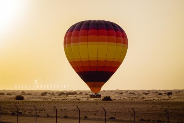 Hot Air Balloon Dubai, Dawn, Fire, Adventures, Desert Balloon, Camels
