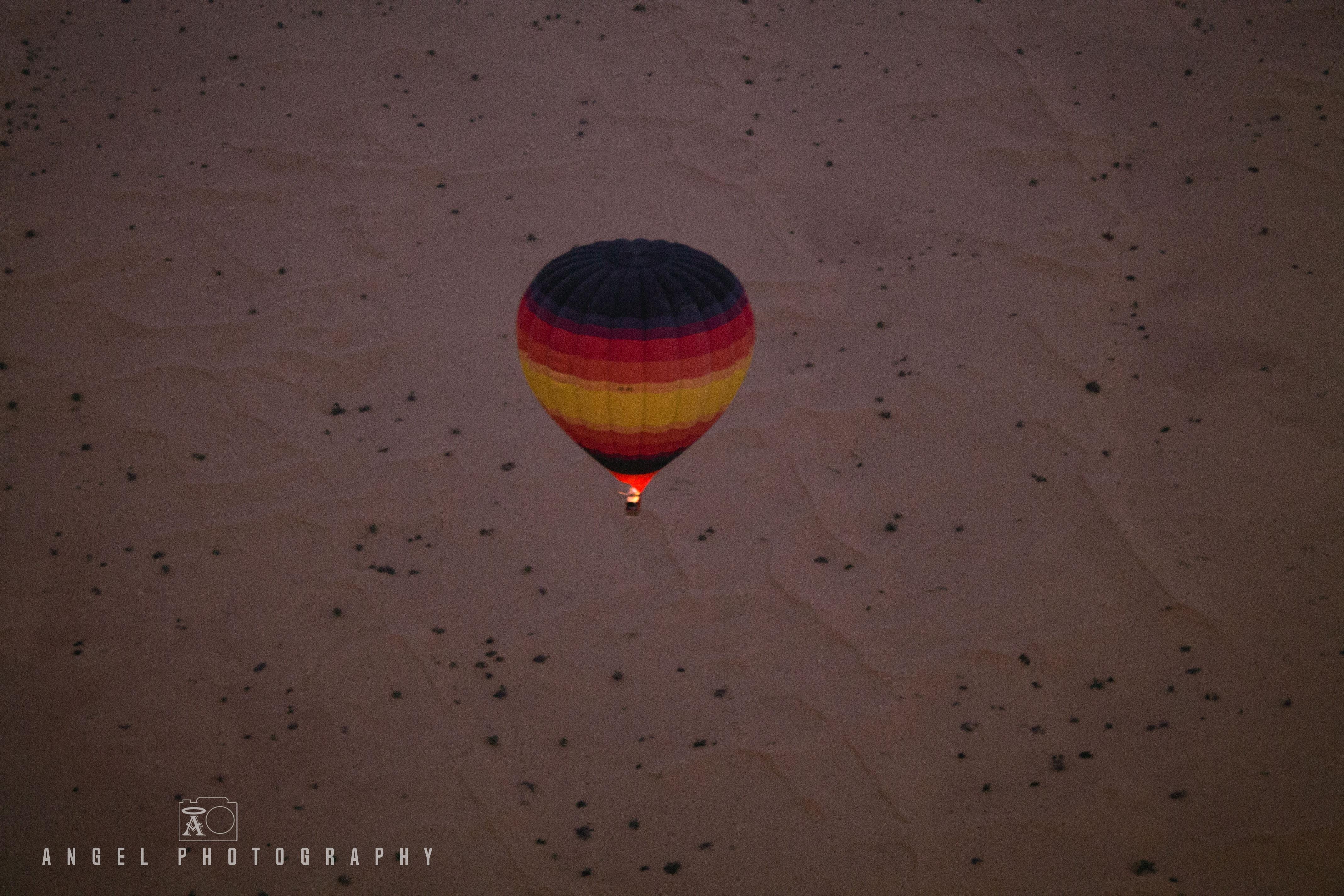 Hot Air Balloon Dubai, Dawn, Fire, Adventures, Desert Balloon