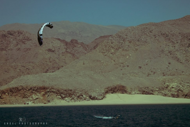 Dibba, Oman, Landscape, Kite Surf, Rock Mountains