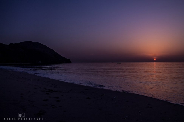 Dibba, Oman, Landscape, Sunrise, Blue hour