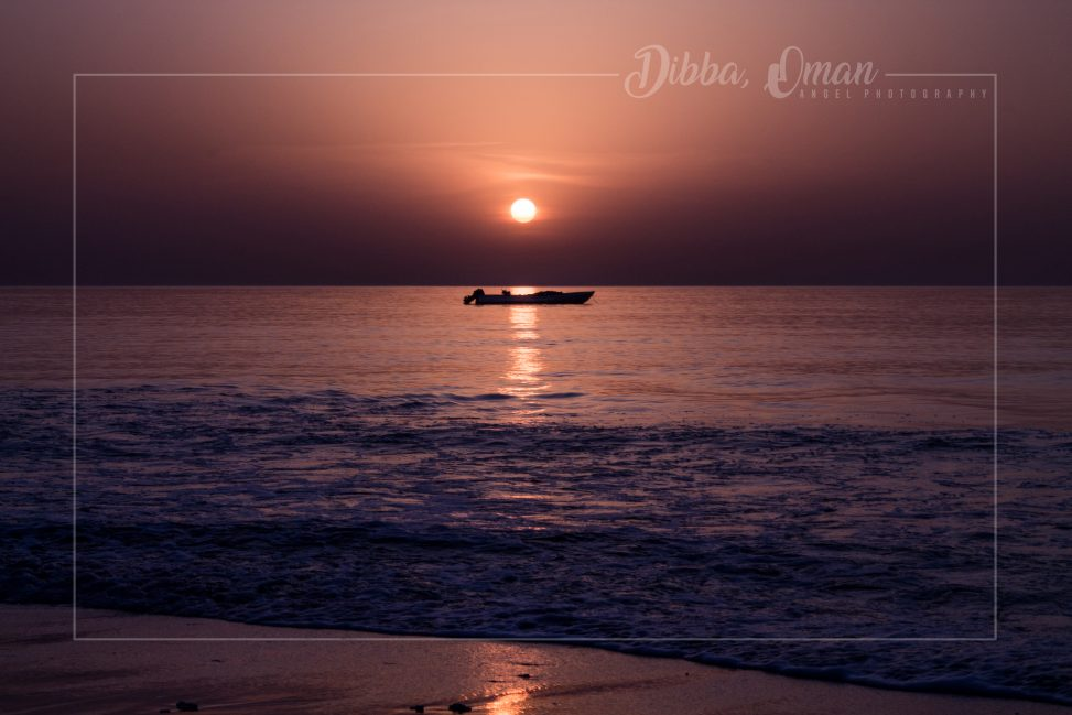 Dibba, Oman, Landscape, Sunrise, Red Hour