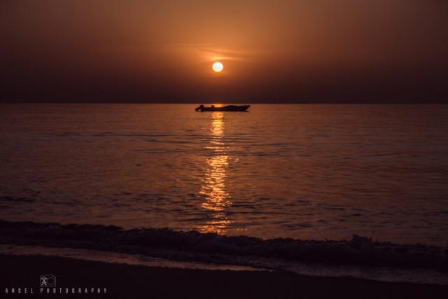Dibba, Oman, Landscape, Sunrise, Ocean