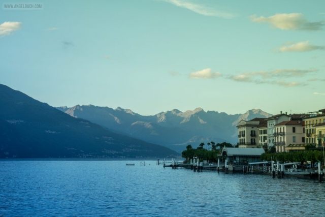 Landscape, Lake Como, Nature, houses over the mountain, Sailing, Italy, Bellagio,