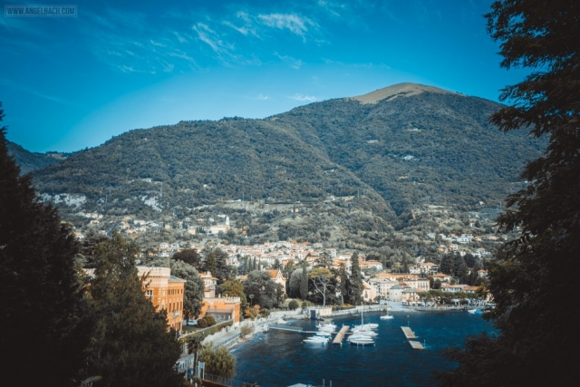Landscape, Lake Como, Nature, houses over the mountain, Sailing, Italy