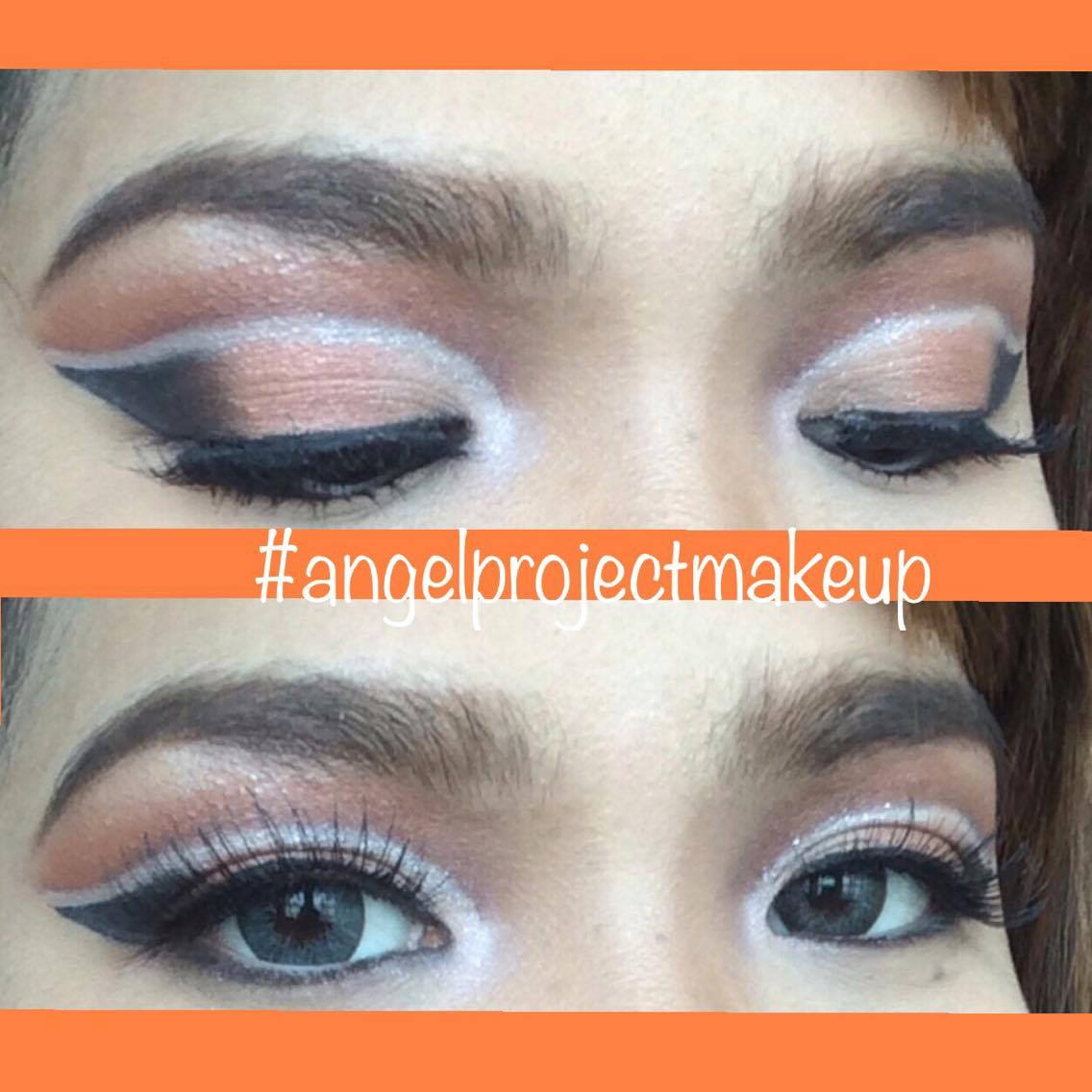 Double cutcrease, Arabic makeup look, Angel Bach artistry, Makeup Tutorial, Pinay Makeup Artist, Evening Look, Party Look, Copper Eyeshadow,
