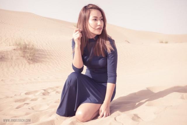 Desert, Dubai, Fashion Photography, Woman in Desert, Dubai Expat, Portraits, Pinay, Filipina, Muse, Gandang Pinay, Makeup and Style by Angel Bach