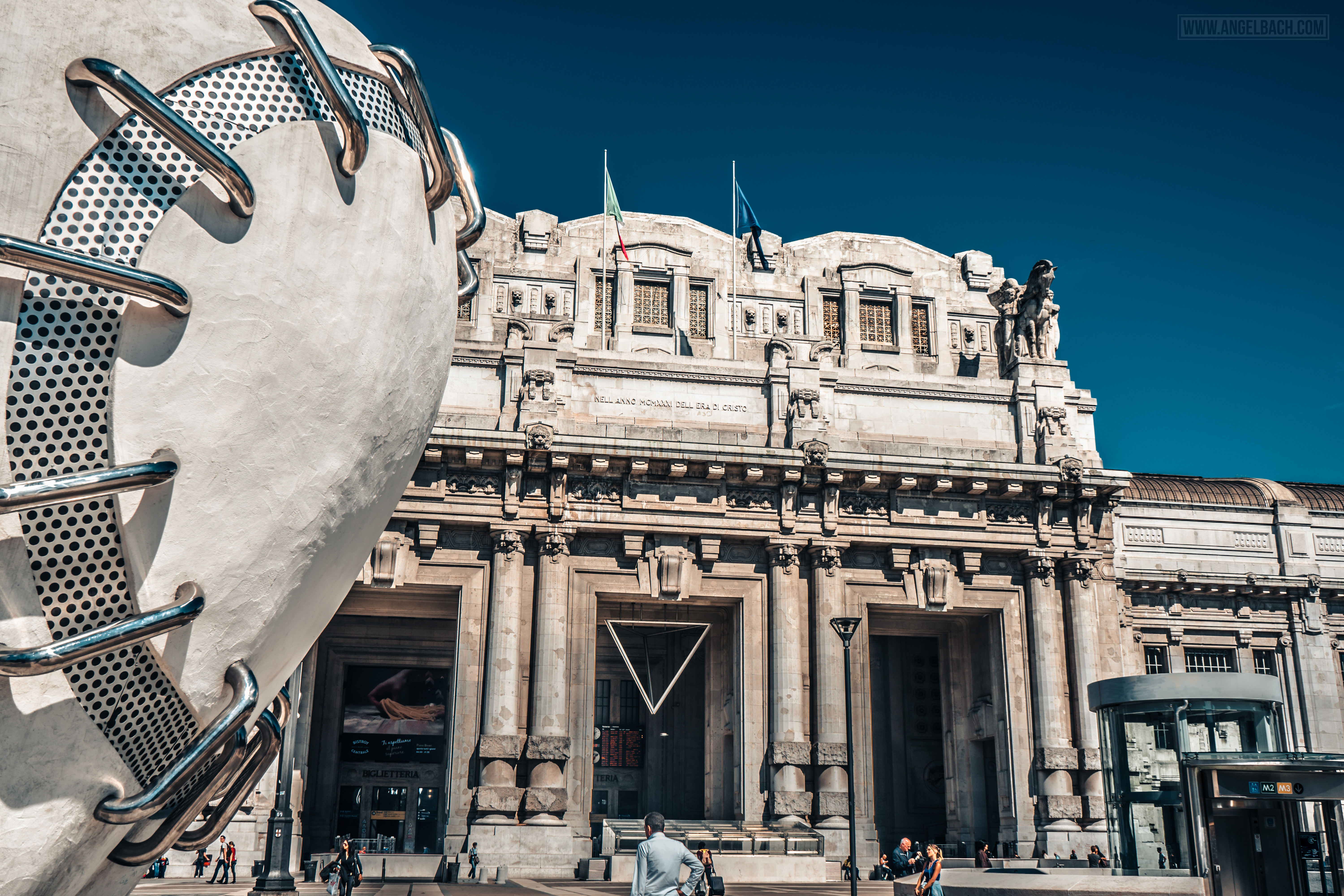 Milan, Milan Train Central Station,  Photography, Italy, Cityscape, Architecture