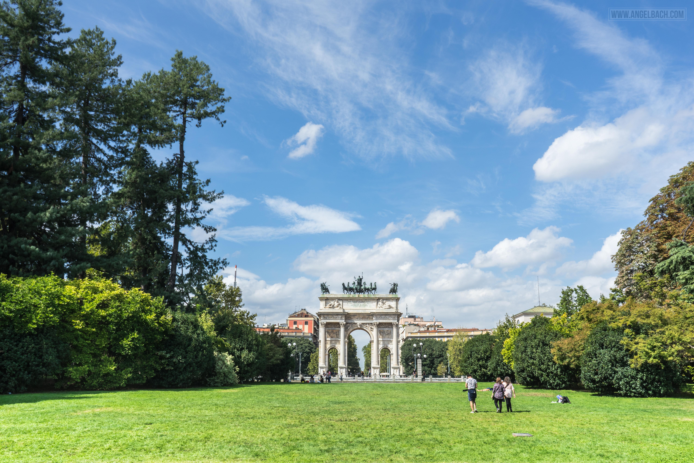 Nature, Park, Milan, Porta Sempione, Ancient Gate, grass