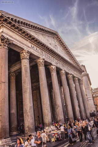 Rome, Cityscape, Leading lines, Street photography, Architecture Photography, The Pantheon