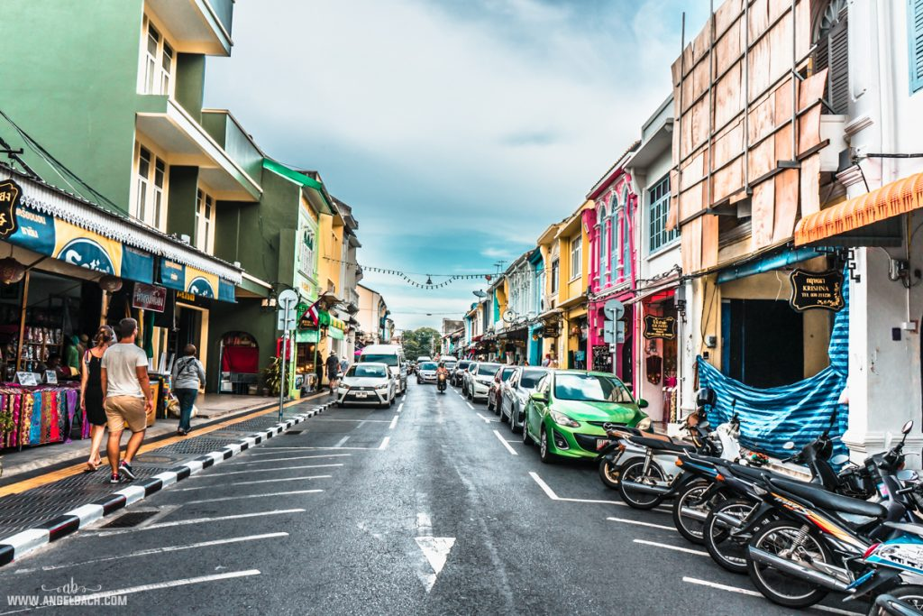 Thalang Road, Phuket, Photography, Street Photography, Sony Photos, HDR Photos, Old Phuket Town, Old Portuguese Built