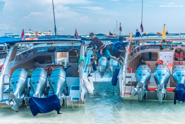 Phuket, Thailand, Island Hopping Phuket, Nature, Photography, White Beach, Sailing, Speed Boat