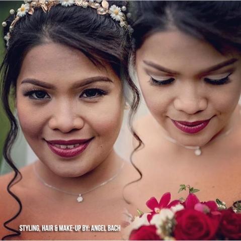 Bridal Hair and Make-up, Cut crease eyeshadow,