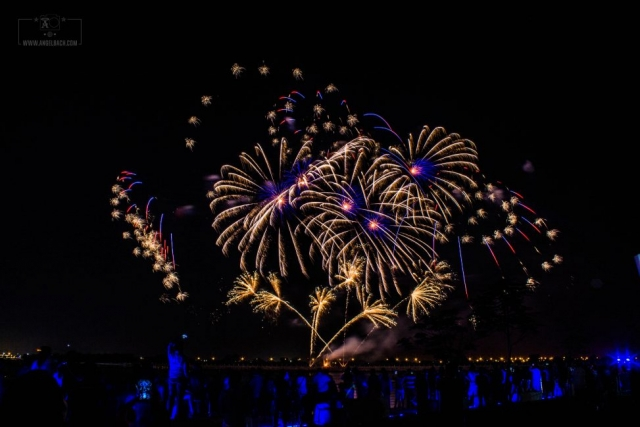 Fireworks, Freeze Action, Long Exposure, EID Mubarak Celebration, Photography, Night Photography, Cityscape, Yas Marina, Abu Dhabi, UAE