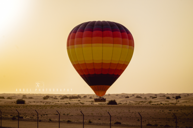 Hot Air Balloon Dubai, Dawn, Fire, Adventures, Desert Balloon, Camels