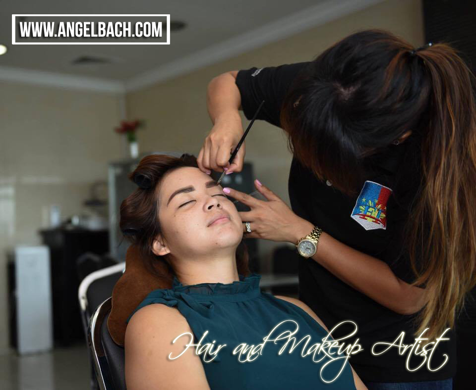 Hair and Makeup Artist, Angel Bach Artistry,