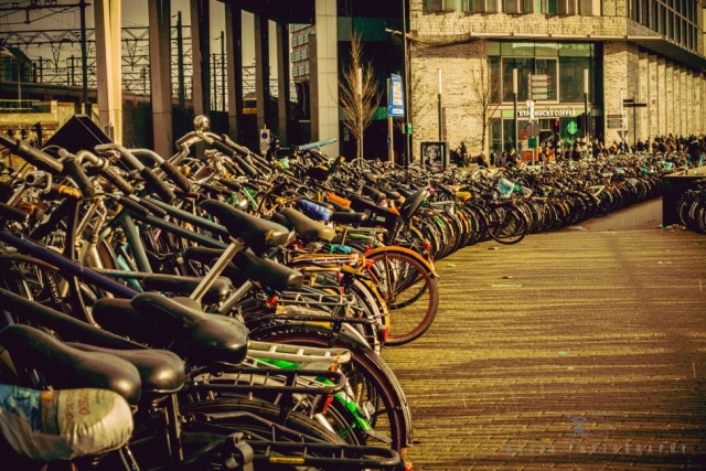 Amsterdam, Vintage building, Street Photography, Netherlands, Day tour in Amsterdam, Bicycle Pattern