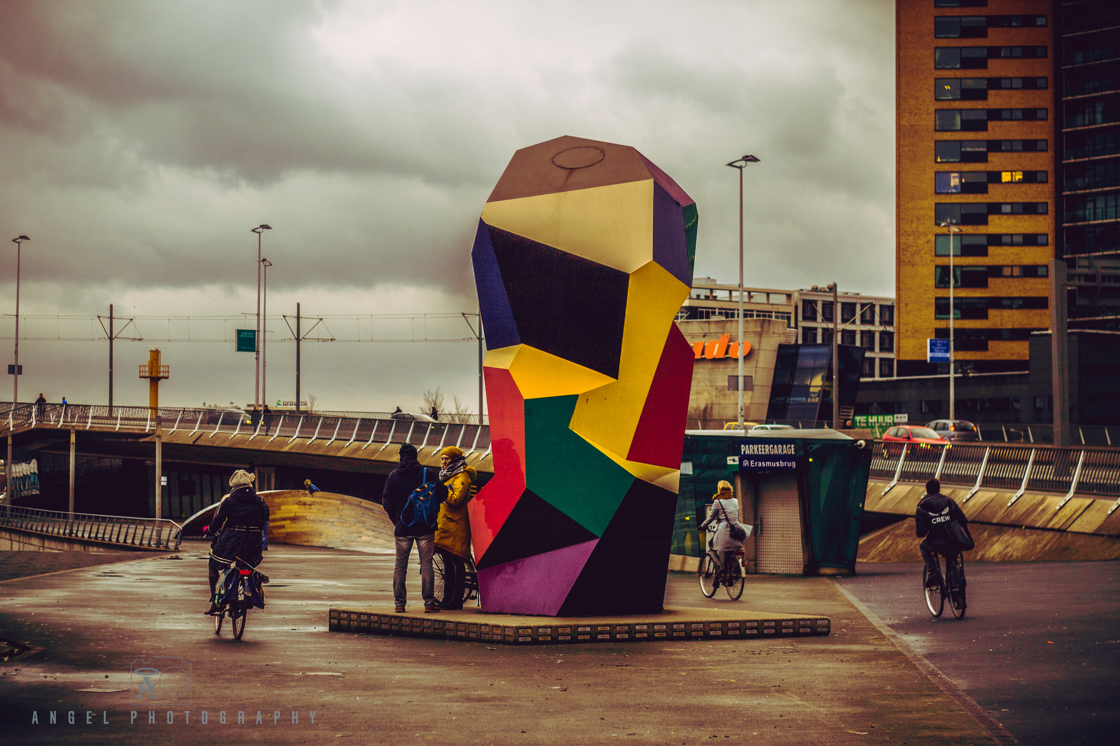 Rotterdam, Cityscape, Winter Season, Day Tour in Rotterdam, Contemporary City
