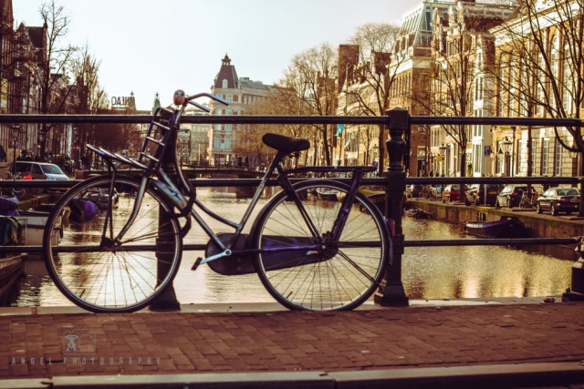 Amsterdam, Vintage building, Street Photography, Netherlands, Day tour in Amsterdam, Bicycle Parking, Grand Canal