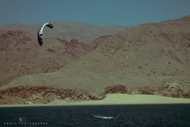Dibba, Oman, Landscape, Kite Surf, Rock Mountains