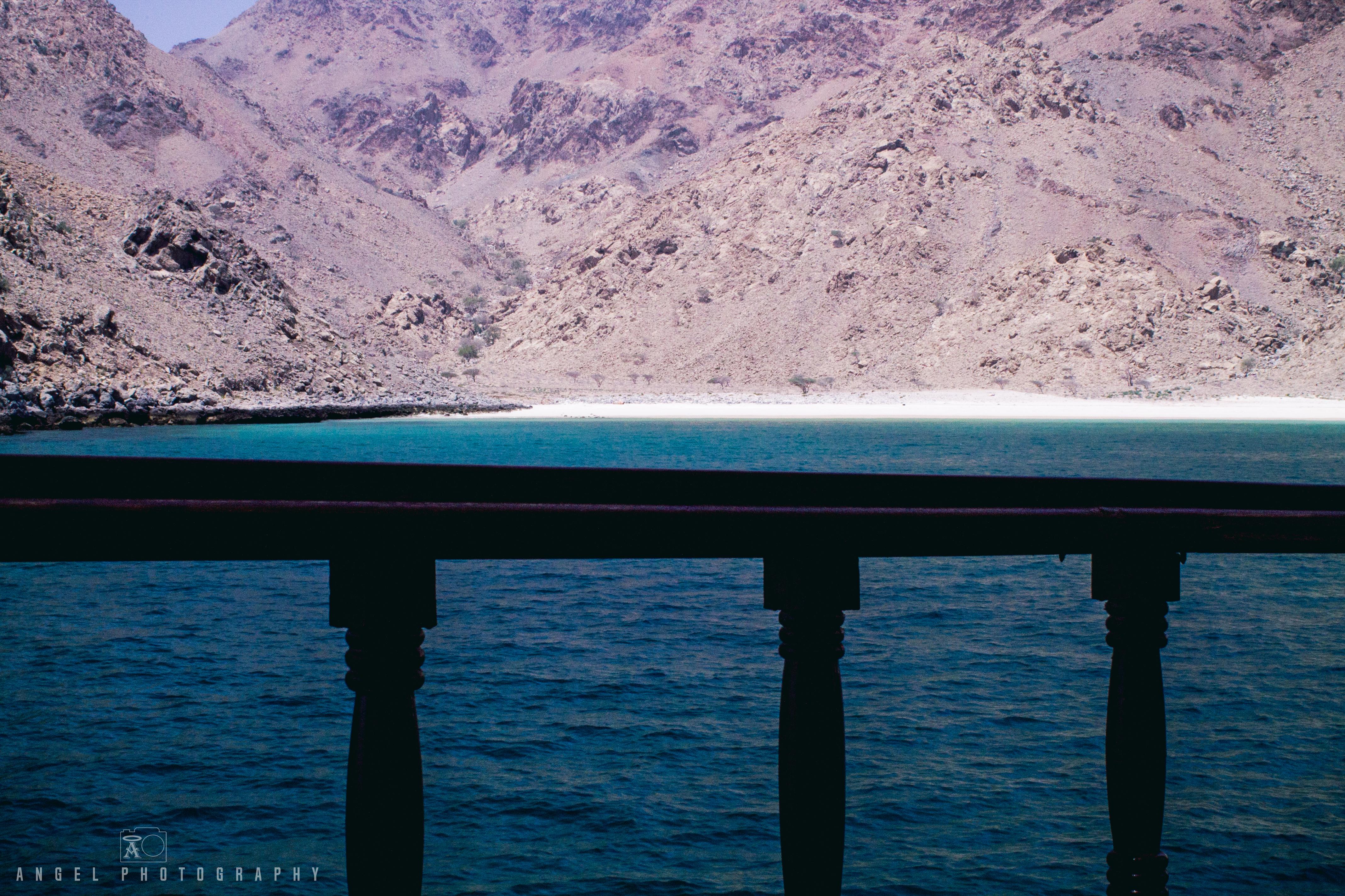 Dibba, Oman, Landscape, Dhow Cruise, Sailing, Beach, Rock Mountain
