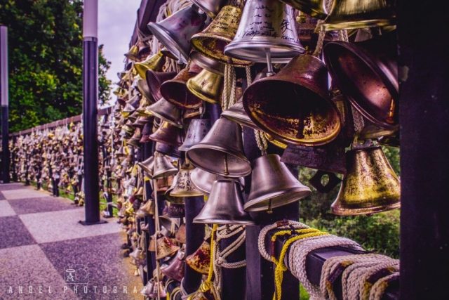 Faber Peak, Love Bells, Love Locks, Chained Bells, Singapore Day time, Travel Singapore