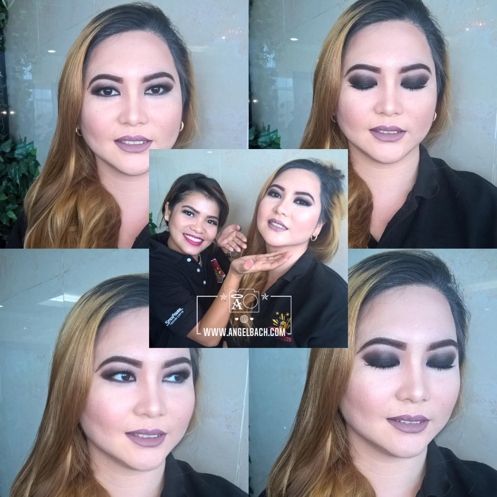 Black Smokey Look, Party Look, Evening Look, Black Glam Look