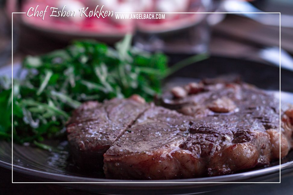 Chef Esben, Steak, Dinner, Salad, Specialty Food, Beef, home cooked, Husband's Kitchen