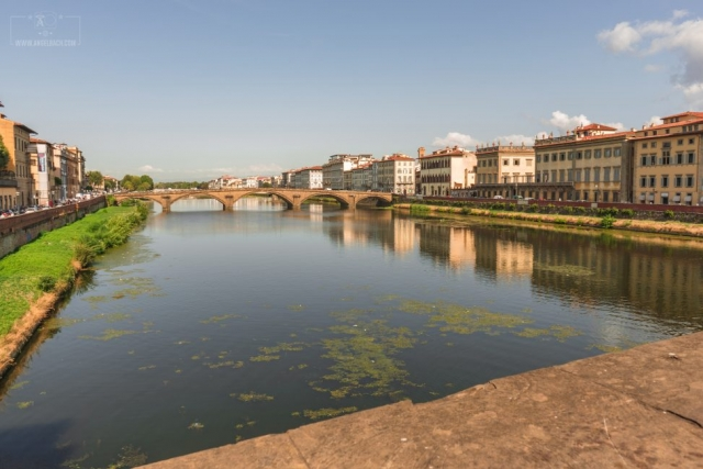 Day Photography, Long Exposure, Cityscape, Landscape,Florence, Bride, River, Tourist Attraction, Lights, Ancient place, Arno River, Tuscany, Ponte Vecchio, Italy