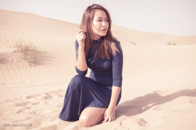 Desert, Dubai, Fashion Photography, Woman in Desert, Dubai Expat, Portraits, Pinay, Filipina, Muse, Gandang Pinay, Makeup and Style by Angel Bach