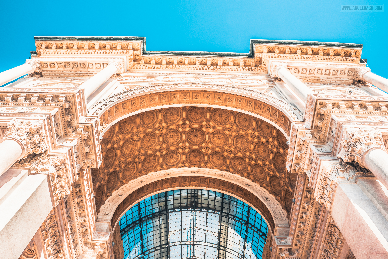 Galleria Vittorio Emanuele II, Milan, Mall, Shopping, Architecture, Cityscape, Building