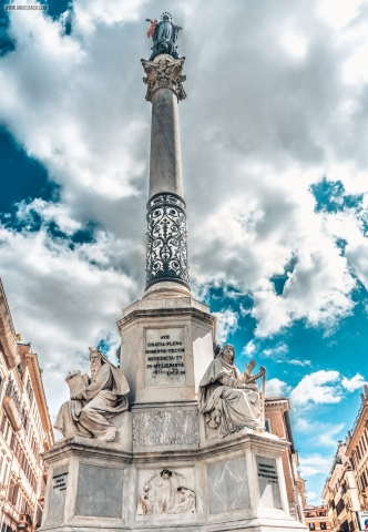 Rome, Cityscape, Leading lines, Street photography, Architecture Photography, Statue