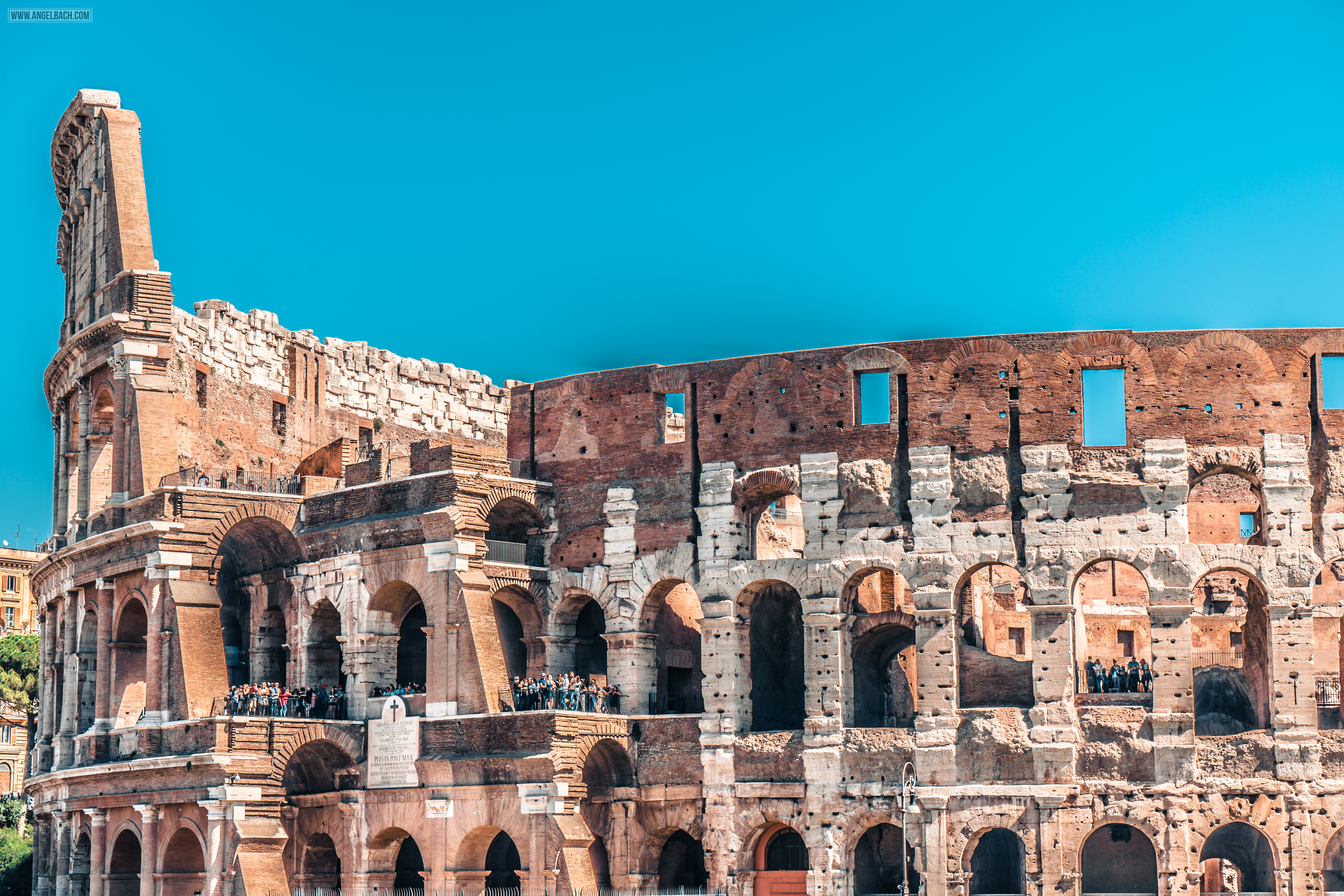 Rome, Cityscape, Leading lines, Street photography, Architecture Photography, Colosseum