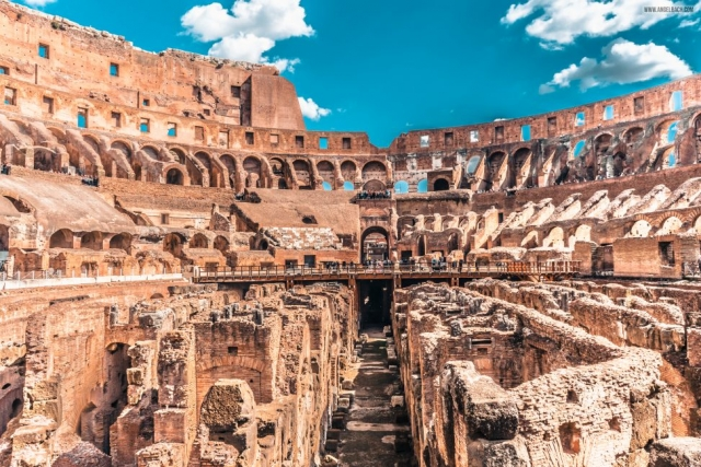 Rome, Cityscape, Leading lines, Street photography, Architecture Photography, Ancient Rome, Gladiators, Colosseum