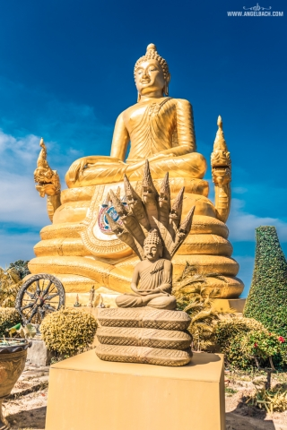 Big Buddha Temple, Phuket, Thailand White Buddha, Day Tour in Phuket, Photography, Temple, Gold Buddha