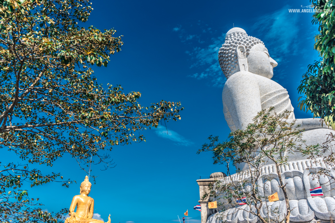 Big Buddha Temple, Phuket, Thailand White Buddha, Day Tour in Phuket, Photography, Temple
