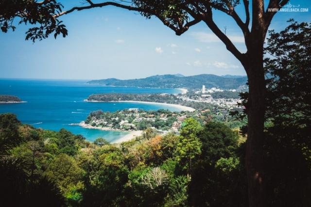 Karon Beach, Karon View Point, Phuket, Beach, Nature, Islands, Photography, Sony Photos, Angel Bach Photography, Blue Water, Ocean, Beach Horizon