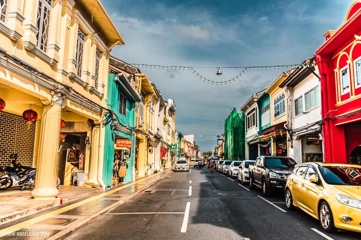 Thalang Road, Phuket, Photography, Street Photography, Sony Photos, HDR Photos, Old Phuket Town, Old Portuguese Built