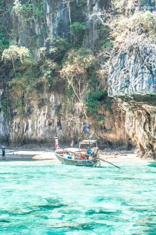 Phuket, Thailand, Island Hopping Phuket, Nature, Photography, White Beach, Sailing, Boat