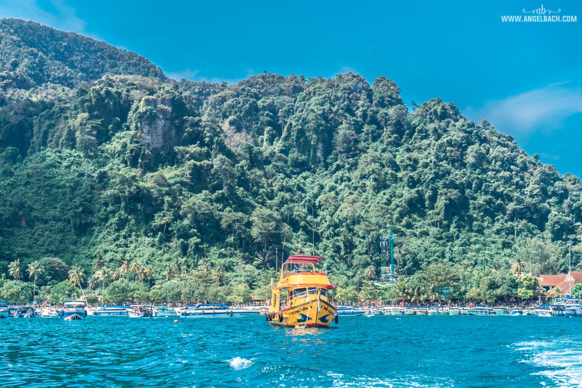 Phuket, Thailand, Island Hopping Phuket, Nature, Photography, White Beach, Sailing, Boat Mountains, Krabi Island