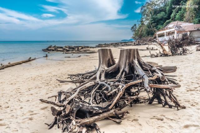 Phuket, Thailand, Island Hopping Phuket, Nature, Photography, White Beach, Sailing, Tsunami Remains