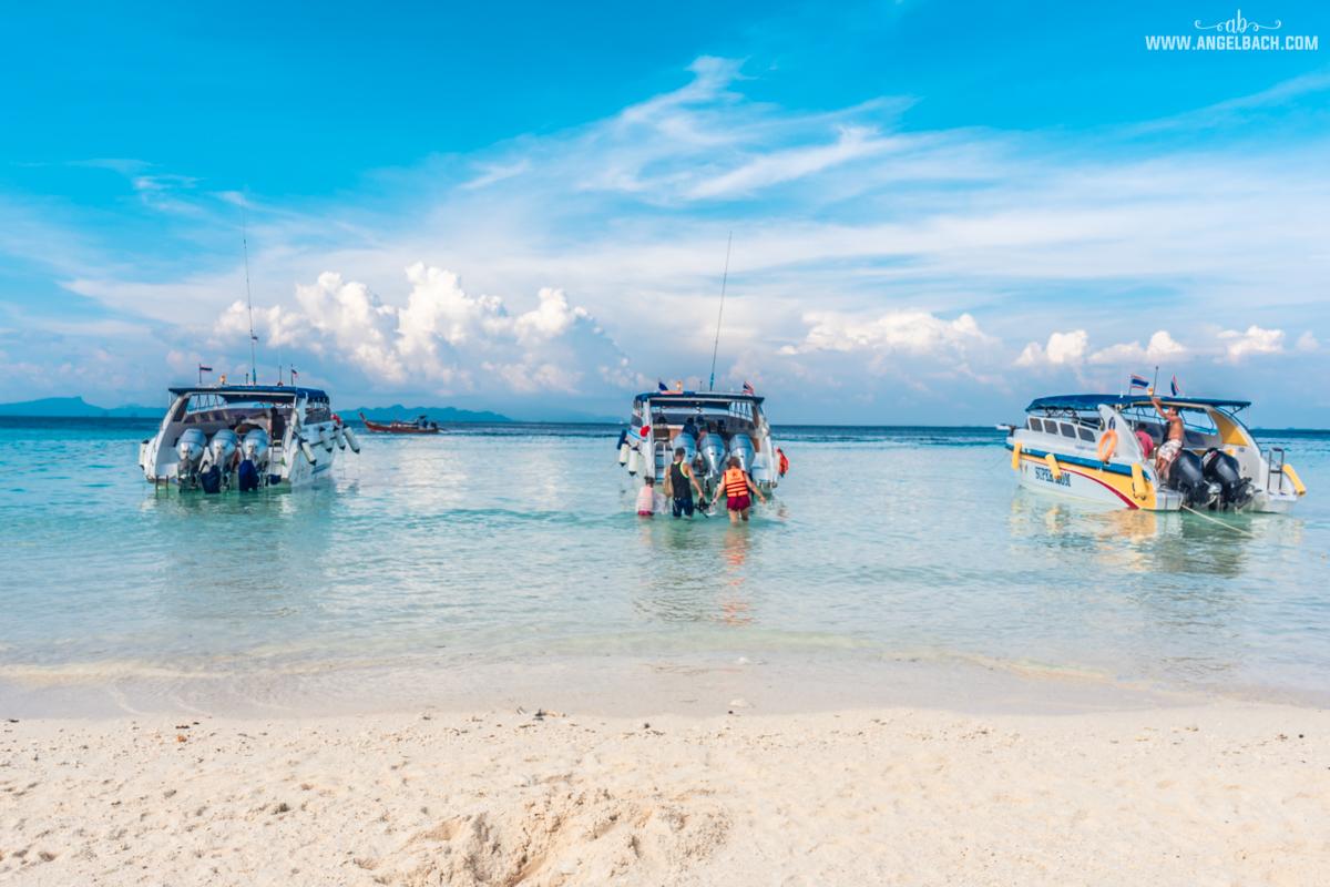 Phuket, Thailand, Island Hopping Phuket, Nature, Photography, White Beach, Sailing, Speed Boat