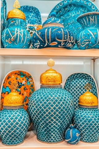 Ceramics product in Grand Bazaar