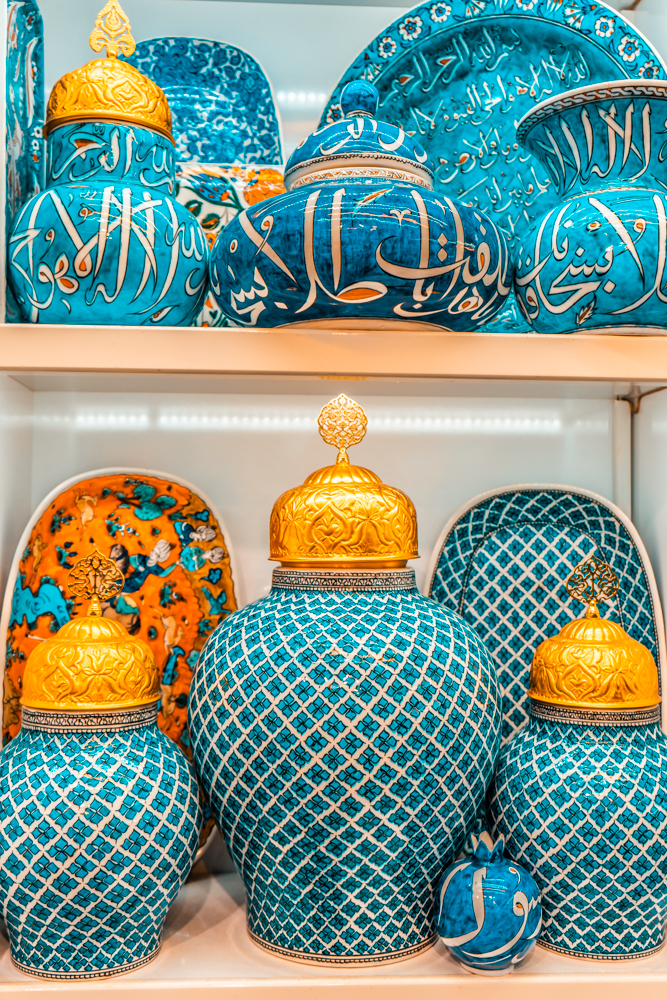 Ceramics product in Grand Bazaar